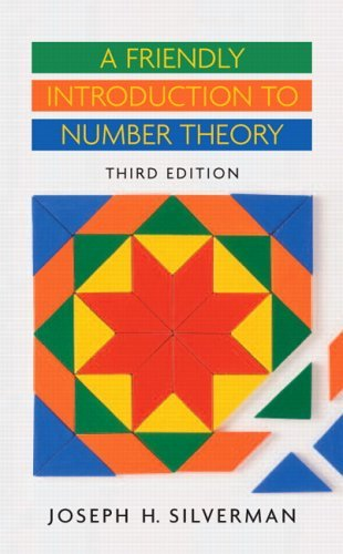 Friendly Introduction to Number Theory  3rd 2006 (Revised) edition cover