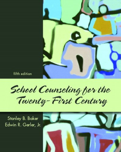 School Counseling for the Twenty-First Century  5th 2008 edition cover