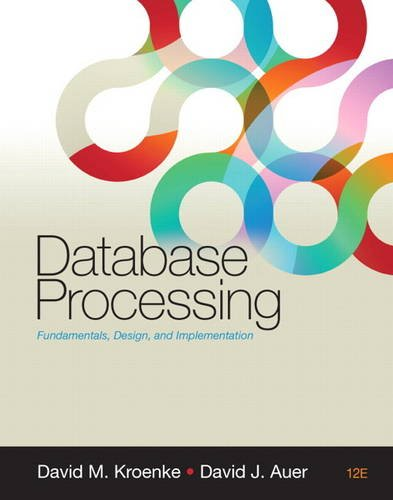 Database Processing  12th 2012 (Revised) edition cover