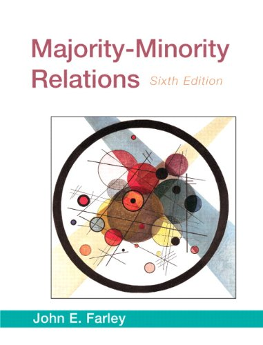 Majority-Minority Relations  6th 2010 9780205645374 Front Cover