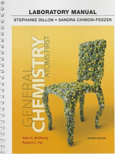 Labortory Manual for General Chemistry Atoms First 2nd 2014 edition cover