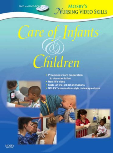 Care of Infants and Children  2007 edition cover