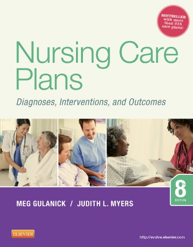 Nursing Care Plans Diagnoses, Interventions, and Outcomes 8th 2014 9780323091374 Front Cover