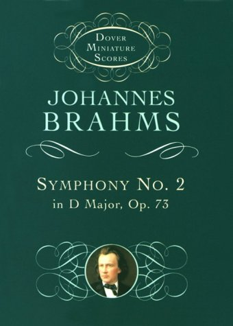 Symphony No. 2 in D Major, Op. 73  N/A edition cover