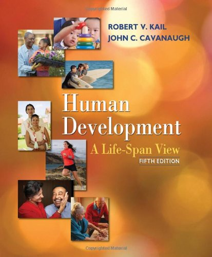 Human Development A Life-Span View 5th 2010 edition cover