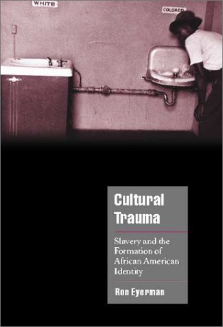 Cultural Trauma Slavery and the Formation of African American Identity  2001 edition cover