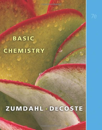 Basic Chemistry  7th 2011 edition cover