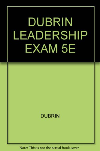 LEADERSHIP:RSRCH.FINDINGS...>E 5th 2007 9780618731374 Front Cover