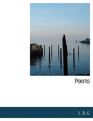 Poems N/A 9781115088374 Front Cover