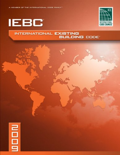 International Existing Building Code 2009   2009 edition cover