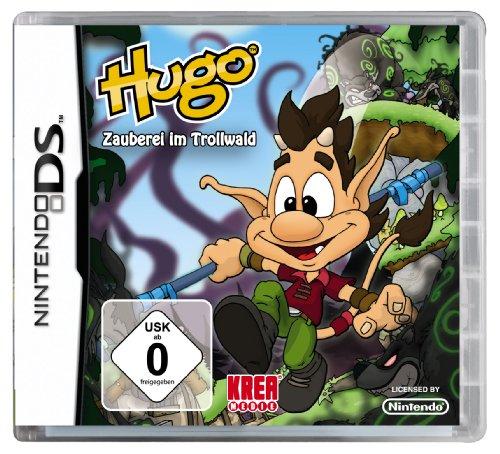 Hugo - Zauberei im Trollwald Nintendo DS artwork