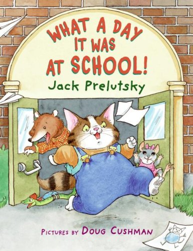 What a Day It Was at School!  N/A edition cover