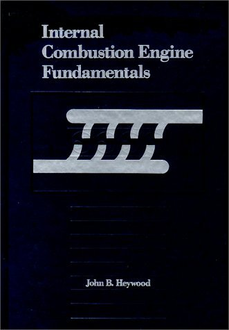 Internal Combustion Engine Fundamentals   1988 edition cover