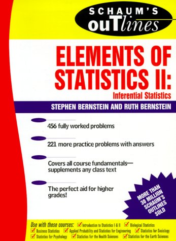 Elements of Statistics II Inferential Statistics  2000 9780071346375 Front Cover