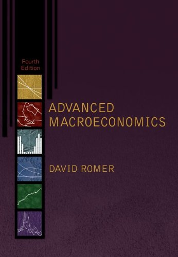 Advanced Macroeconomics  4th 2012 edition cover