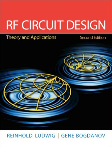 RF Circuit Design Theory and Applications 2nd 2009 edition cover