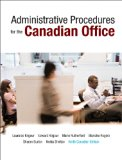 Administrative Procedures for the Canadian Office, Ninth Canadian Edition  9th 2014 9780132164375 Front Cover