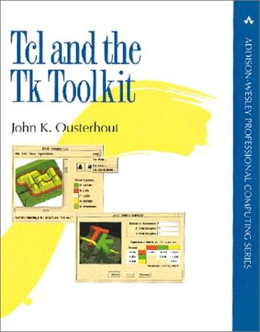 TCL and the TK Toolkit   1994 edition cover