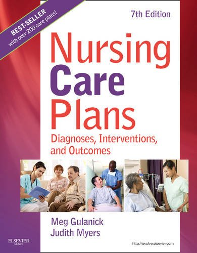 Nursing Care Plans Diagnoses, Interventions, and Outcomes 7th 2010 edition cover