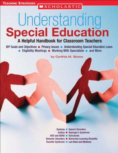 Understanding Special Education A Helpful Handbook for Classroom Teachers  2005 edition cover