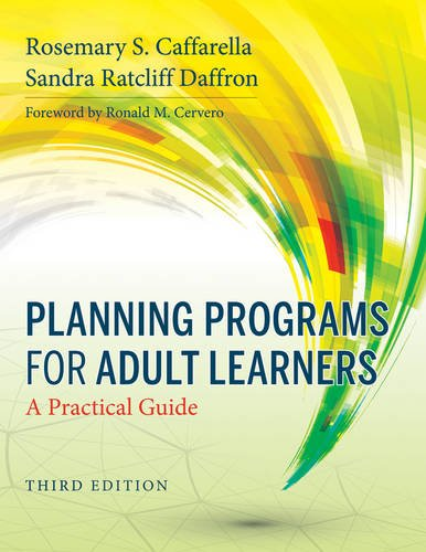 Planning Programs for Adult Learners A Practical Guide 3rd 2013 edition cover