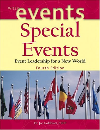 Special Events Event Leadership for a New World 4th 2005 (Revised) 9780471450375 Front Cover