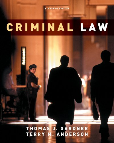 Criminal Law  11th 2012 edition cover