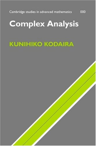 Complex Analysis   2006 9780521809375 Front Cover