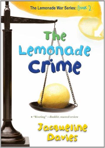 Lemonade Crime   2011 9780547722375 Front Cover