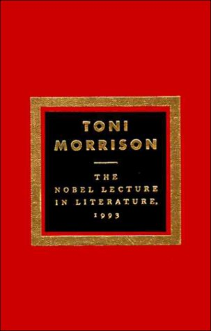 Nobel Lecture in Literature, 1993  N/A edition cover