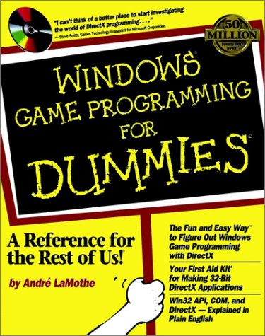 Windows Game Programming for Dummies   1998 9780764503375 Front Cover