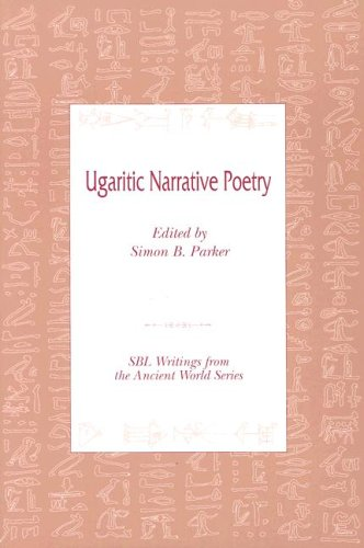 Ugaritic Narrative Poetry 1st 9780788503375 Front Cover