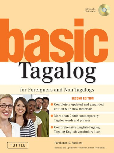 Basic Tagalog for Foreigners and Non-Tagalogs  2nd 2007 (Revised) edition cover