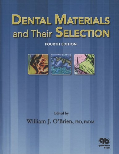 Dental Materials and Their Selection  4th 2008 edition cover
