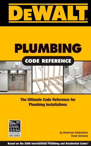 Plumbing Code Reference 2006   2008 9780977718375 Front Cover