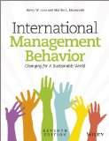 International Management Behavior: Global and Sustainable Leadership  2014 edition cover