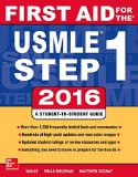First Aid for the USMLE Step 1 2016  26th 2016 9781259587375 Front Cover
