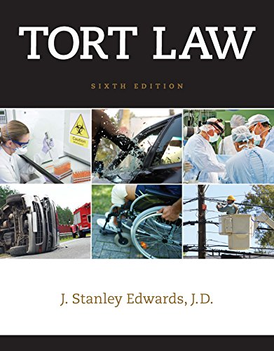 Tort Law + Lms Integrated for Mindtap Paralegal, 1-term Access:   2015 9781305611375 Front Cover