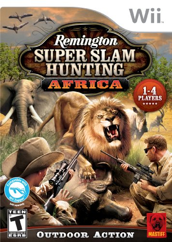 Remington Super Slam Hunting Africa Nintendo Wii artwork