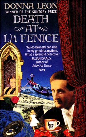 Death at la Fenice  N/A edition cover