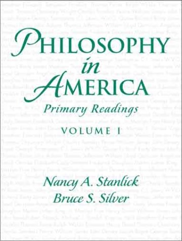 Philosophy in America Primary Readings  2004 edition cover