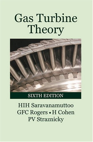 Gas Turbine Theory  6th 2009 edition cover