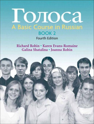 Golosa, Book 2 A Basic Course in Russian 4th 2008 edition cover