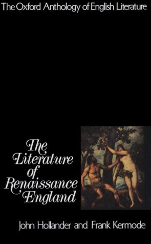 Literature of Renaissance England   1973 edition cover