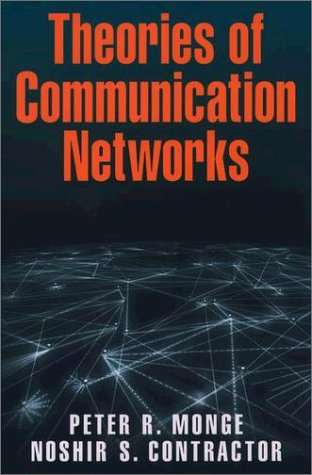 Theories of Communcation Networks   2002 edition cover