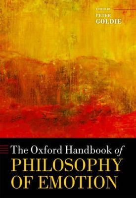 Oxford Handbook of Philosophy of Emotion   2012 edition cover