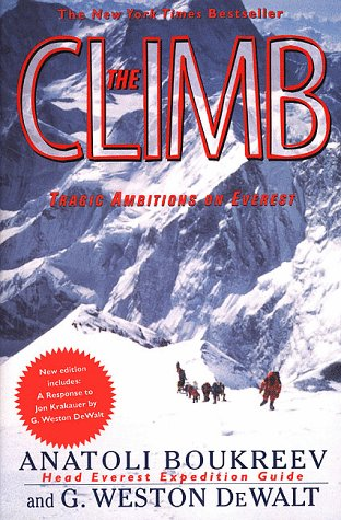 Climb Tragic Ambitions on Everest  1999 (Revised) edition cover