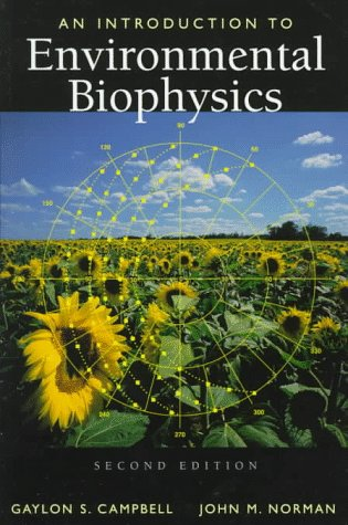 Introduction to Environmental Biophysics  2nd 1998 (Revised) edition cover