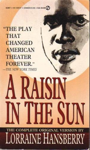 Raisin in the Sun  N/A 9780451161376 Front Cover