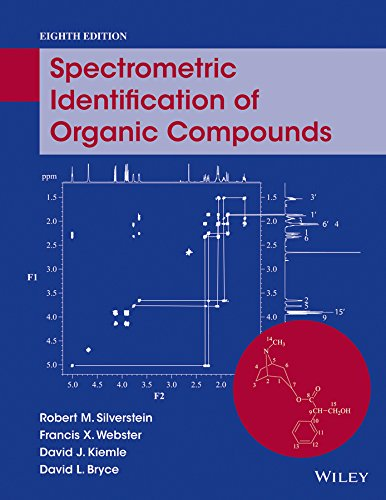 Spectrometric Identification of Organic Compounds  8th 2015 9780470616376 Front Cover
